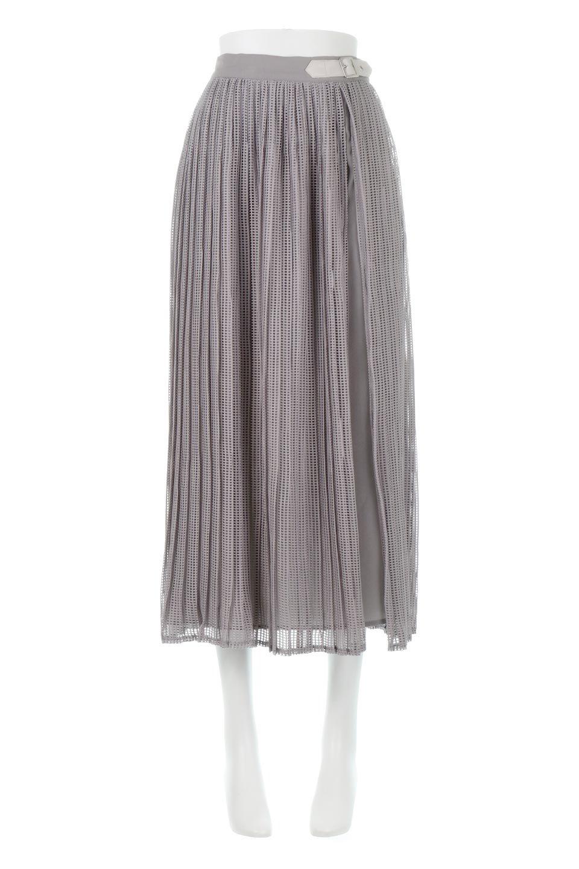 MeshPleatLayeredSkirtメッシュプリーツ・レイヤードスカート大人カジュアルに最適な海外ファッションのothers(その他インポートアイテム)のボトムやスカート。スタイリングのメインになるデザインスカート。繊細なメッシュ素材を使用し、立体的なプリーツが織りなす華やかなスカートです。
