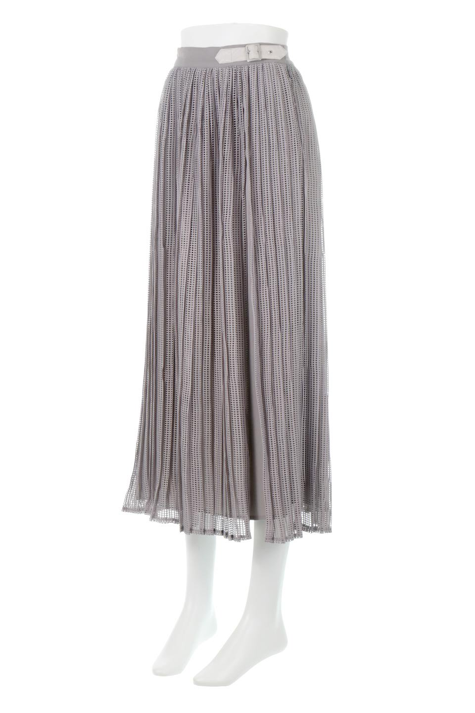 MeshPleatLayeredSkirtメッシュプリーツ・レイヤードスカート大人カジュアルに最適な海外ファッションのothers(その他インポートアイテム)のボトムやスカート。スタイリングのメインになるデザインスカート。繊細なメッシュ素材を使用し、立体的なプリーツが織りなす華やかなスカートです。/main-1