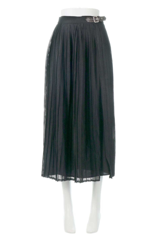 MeshPleatLayeredSkirtメッシュプリーツ・レイヤードスカート大人カジュアルに最適な海外ファッションのothers(その他インポートアイテム)のボトムやスカート。スタイリングのメインになるデザインスカート。繊細なメッシュ素材を使用し、立体的なプリーツが織りなす華やかなスカートです。/main-11