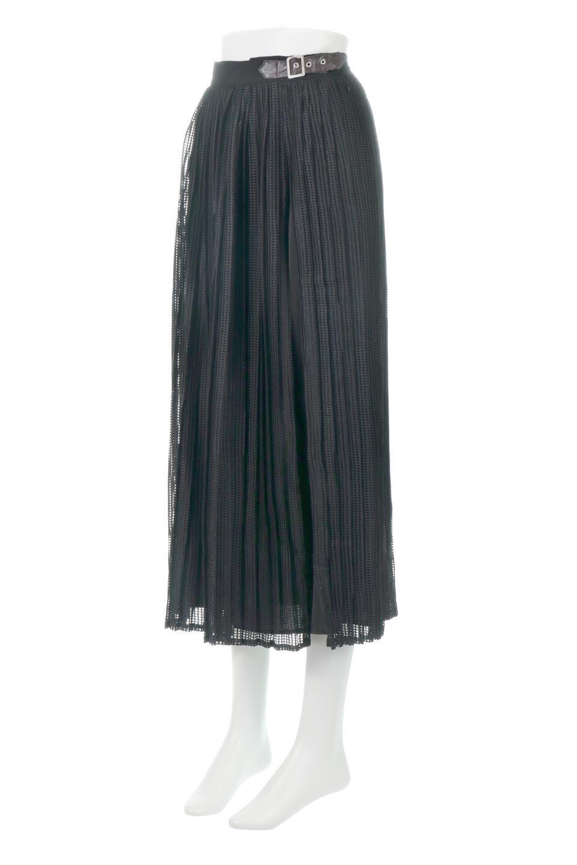 MeshPleatLayeredSkirtメッシュプリーツ・レイヤードスカート大人カジュアルに最適な海外ファッションのothers(その他インポートアイテム)のボトムやスカート。スタイリングのメインになるデザインスカート。繊細なメッシュ素材を使用し、立体的なプリーツが織りなす華やかなスカートです。/main-12