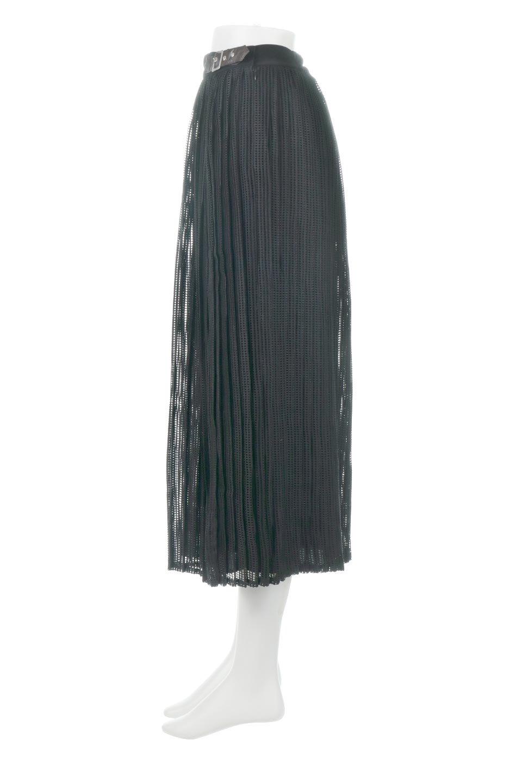 MeshPleatLayeredSkirtメッシュプリーツ・レイヤードスカート大人カジュアルに最適な海外ファッションのothers(その他インポートアイテム)のボトムやスカート。スタイリングのメインになるデザインスカート。繊細なメッシュ素材を使用し、立体的なプリーツが織りなす華やかなスカートです。/main-13