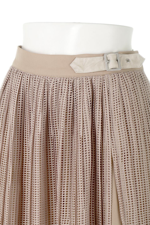 MeshPleatLayeredSkirtメッシュプリーツ・レイヤードスカート大人カジュアルに最適な海外ファッションのothers(その他インポートアイテム)のボトムやスカート。スタイリングのメインになるデザインスカート。繊細なメッシュ素材を使用し、立体的なプリーツが織りなす華やかなスカートです。/main-15