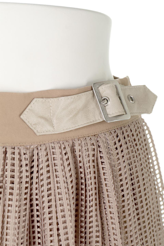 MeshPleatLayeredSkirtメッシュプリーツ・レイヤードスカート大人カジュアルに最適な海外ファッションのothers(その他インポートアイテム)のボトムやスカート。スタイリングのメインになるデザインスカート。繊細なメッシュ素材を使用し、立体的なプリーツが織りなす華やかなスカートです。/main-18
