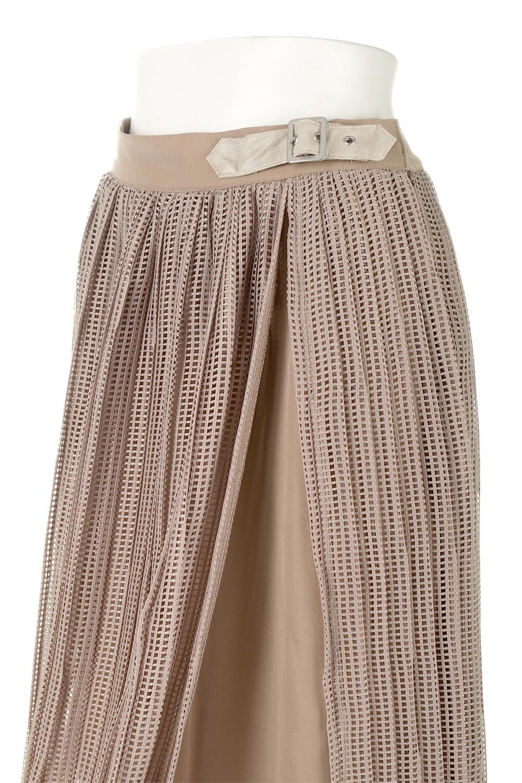 MeshPleatLayeredSkirtメッシュプリーツ・レイヤードスカート大人カジュアルに最適な海外ファッションのothers(その他インポートアイテム)のボトムやスカート。スタイリングのメインになるデザインスカート。繊細なメッシュ素材を使用し、立体的なプリーツが織りなす華やかなスカートです。/main-20