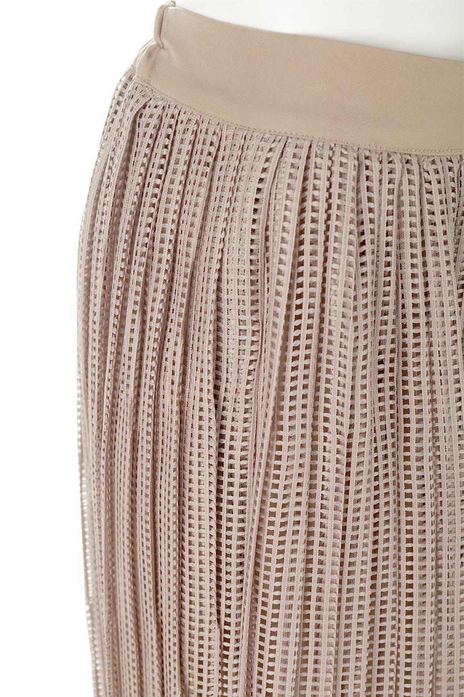 MeshPleatLayeredSkirtメッシュプリーツ・レイヤードスカート大人カジュアルに最適な海外ファッションのothers(その他インポートアイテム)のボトムやスカート。スタイリングのメインになるデザインスカート。繊細なメッシュ素材を使用し、立体的なプリーツが織りなす華やかなスカートです。/main-21