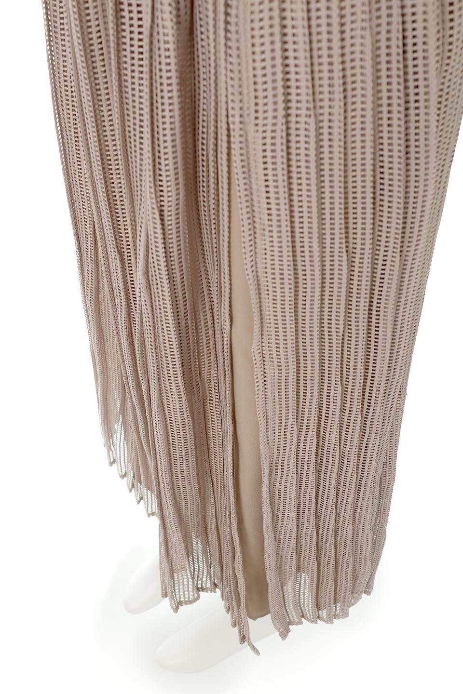 MeshPleatLayeredSkirtメッシュプリーツ・レイヤードスカート大人カジュアルに最適な海外ファッションのothers(その他インポートアイテム)のボトムやスカート。スタイリングのメインになるデザインスカート。繊細なメッシュ素材を使用し、立体的なプリーツが織りなす華やかなスカートです。/main-23