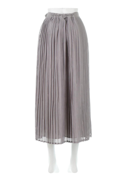 MeshPleatLayeredSkirtメッシュプリーツ・レイヤードスカート大人カジュアルに最適な海外ファッションのothers(その他インポートアイテム)のボトムやスカート。スタイリングのメインになるデザインスカート。繊細なメッシュ素材を使用し、立体的なプリーツが織りなす華やかなスカートです。/main-4