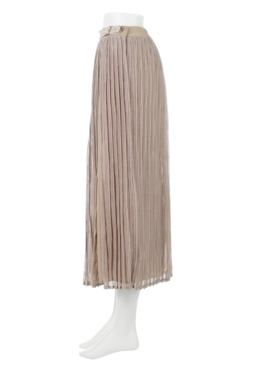 MeshPleatLayeredSkirtメッシュプリーツ・レイヤードスカート大人カジュアルに最適な海外ファッションのothers(その他インポートアイテム)のボトムやスカート。スタイリングのメインになるデザインスカート。繊細なメッシュ素材を使用し、立体的なプリーツが織りなす華やかなスカートです。/main-7