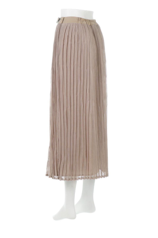 MeshPleatLayeredSkirtメッシュプリーツ・レイヤードスカート大人カジュアルに最適な海外ファッションのothers(その他インポートアイテム)のボトムやスカート。スタイリングのメインになるデザインスカート。繊細なメッシュ素材を使用し、立体的なプリーツが織りなす華やかなスカートです。/main-8
