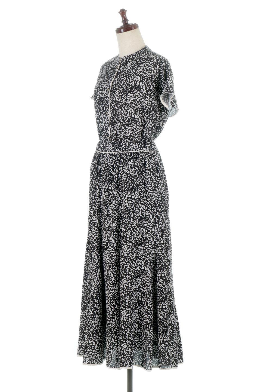 PipingHemLeopardFlareSkirtレオパード・フレアボリュームスカート大人カジュアルに最適な海外ファッションのothers(その他インポートアイテム)のボトムやスカート。動くたびにゆれるシルエットが美しいレオパード柄のフレアースカート。スカート部分に切り替えが斜めにはいっており、ナチュラルなマーメイドシルエットが美しいスカートです。/main-13