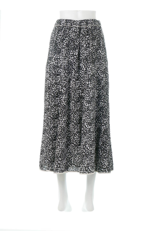 PipingHemLeopardFlareSkirtレオパード・フレアボリュームスカート大人カジュアルに最適な海外ファッションのothers(その他インポートアイテム)のボトムやスカート。動くたびにゆれるシルエットが美しいレオパード柄のフレアースカート。スカート部分に切り替えが斜めにはいっており、ナチュラルなマーメイドシルエットが美しいスカートです。/main-4