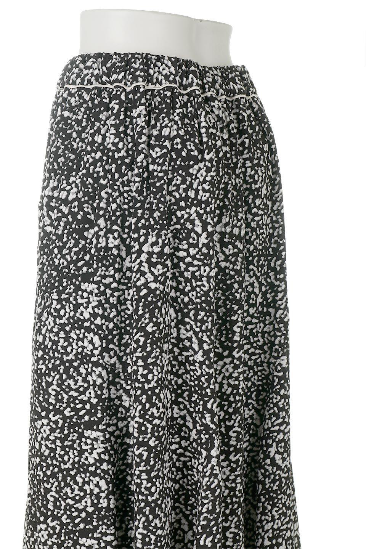PipingHemLeopardFlareSkirtレオパード・フレアボリュームスカート大人カジュアルに最適な海外ファッションのothers(その他インポートアイテム)のボトムやスカート。動くたびにゆれるシルエットが美しいレオパード柄のフレアースカート。スカート部分に切り替えが斜めにはいっており、ナチュラルなマーメイドシルエットが美しいスカートです。/main-8