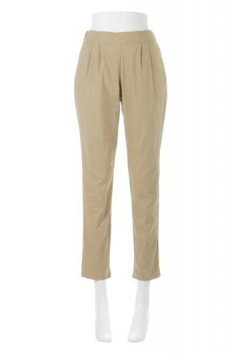 海外ファッションや大人カジュアルに最適なインポートセレクトアイテムのSuper Stretch Tapered Pants ストレッチ・テーパードパンツ