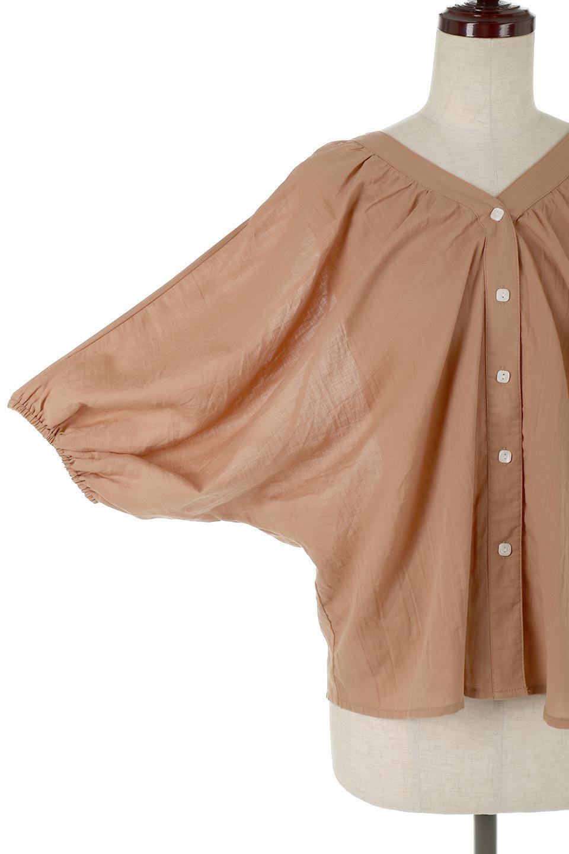 VoluminousSleeveBlouseボリュームスリーブ・ブラウス大人カジュアルに最適な海外ファッションのothers(その他インポートアイテム)のトップスやシャツ・ブラウス。ボリュームがありながらも軽やかな素材で清涼感溢れるエアリーブラウス。綿100%の素材を使用しているので着心地も良くストレスフリーのトップスです。/main-13