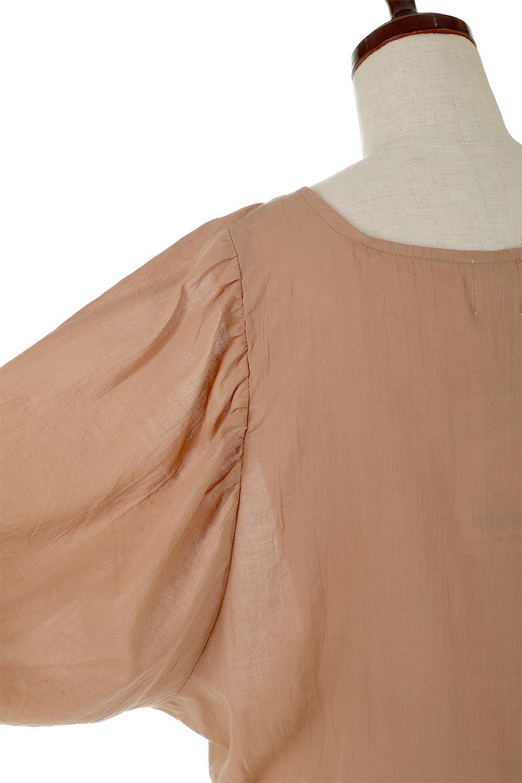VoluminousSleeveBlouseボリュームスリーブ・ブラウス大人カジュアルに最適な海外ファッションのothers(その他インポートアイテム)のトップスやシャツ・ブラウス。ボリュームがありながらも軽やかな素材で清涼感溢れるエアリーブラウス。綿100%の素材を使用しているので着心地も良くストレスフリーのトップスです。/main-14