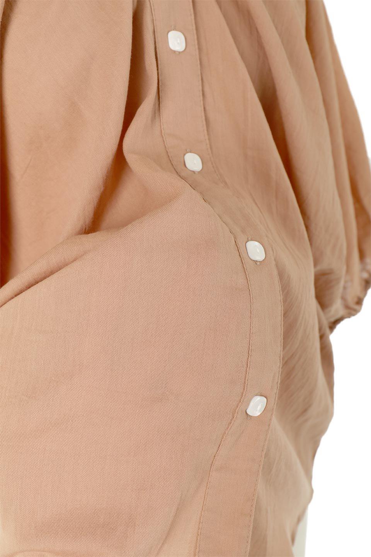 VoluminousSleeveBlouseボリュームスリーブ・ブラウス大人カジュアルに最適な海外ファッションのothers(その他インポートアイテム)のトップスやシャツ・ブラウス。ボリュームがありながらも軽やかな素材で清涼感溢れるエアリーブラウス。綿100%の素材を使用しているので着心地も良くストレスフリーのトップスです。/main-16