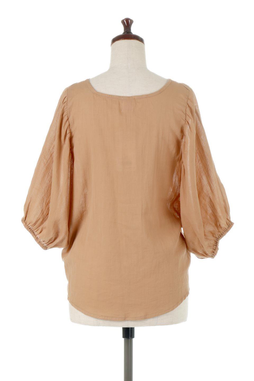 VoluminousSleeveBlouseボリュームスリーブ・ブラウス大人カジュアルに最適な海外ファッションのothers(その他インポートアイテム)のトップスやシャツ・ブラウス。ボリュームがありながらも軽やかな素材で清涼感溢れるエアリーブラウス。綿100%の素材を使用しているので着心地も良くストレスフリーのトップスです。/main-4