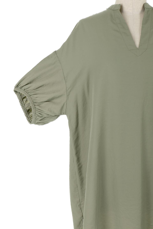 BackButtonKey-NeckLongBlouseキーネック・ロングブラウス大人カジュアルに最適な海外ファッションのothers(その他インポートアイテム)のトップスやシャツ・ブラウス。注目のキーネック仕様のロングブラウス。後ろのボタンを少し外せば、こなれ感も増してオシャレ度アップ。/main-25