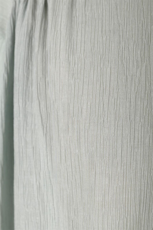 BandCollarFrillSleeveBlouseフリルスリーブ・バンドカラーブラウス大人カジュアルに最適な海外ファッションのothers(その他インポートアイテム)のトップスやシャツ・ブラウス。夏にピッタリの素材を使用したゆったりシルエットのブラウス。きちっとした印象のバンドカラーですが、ボタンの外し具合でカジュアル感を調節できます。/main-27