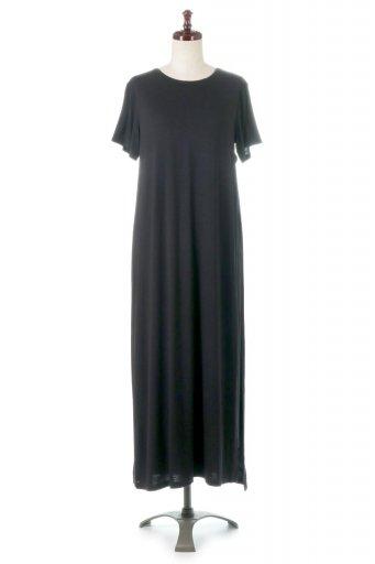 海外ファッションや大人カジュアルに最適なインポートセレクトアイテムのLayered Cut&Sewn Long Dress レイヤード・カットソーワンピース