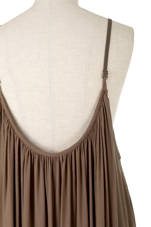 BackGatheredLongCamiDressバックギャザー・キャミマキシワンピース大人カジュアルに最適な海外ファッションのothers(その他インポートアイテム)のワンピースやマキシワンピース。柔らかく軽やかで涼しげな大人のためのサマードレス。ポイントのバックデザインがシンプルながら存在感あるマキシワンピ。/main-14