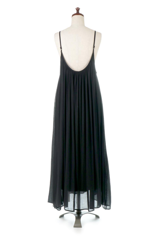 BackGatheredLongCamiDressバックギャザー・キャミマキシワンピース大人カジュアルに最適な海外ファッションのothers(その他インポートアイテム)のワンピースやマキシワンピース。柔らかく軽やかで涼しげな大人のためのサマードレス。ポイントのバックデザインがシンプルながら存在感あるマキシワンピ。/main-4