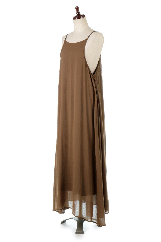 BackGatheredLongCamiDressバックギャザー・キャミマキシワンピース大人カジュアルに最適な海外ファッションのothers(その他インポートアイテム)のワンピースやマキシワンピース。柔らかく軽やかで涼しげな大人のためのサマードレス。ポイントのバックデザインがシンプルながら存在感あるマキシワンピ。/main-6