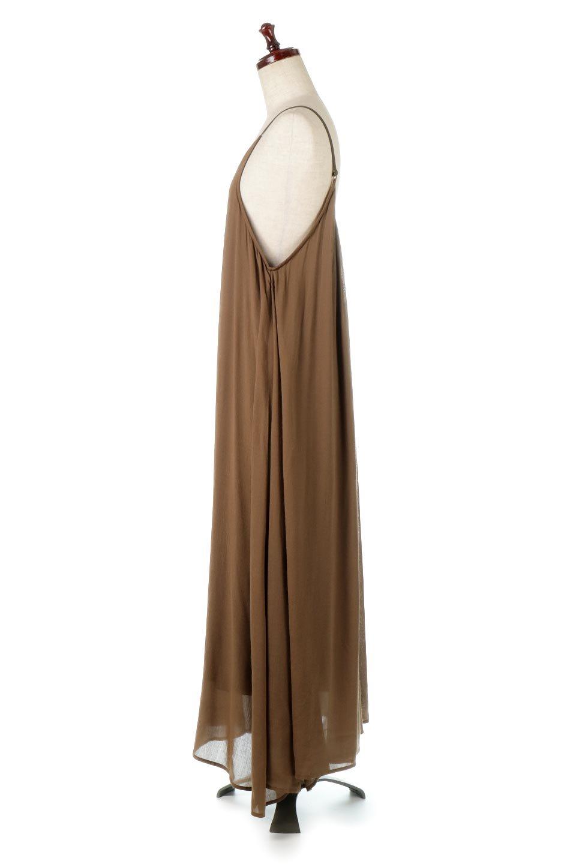 BackGatheredLongCamiDressバックギャザー・キャミマキシワンピース大人カジュアルに最適な海外ファッションのothers(その他インポートアイテム)のワンピースやマキシワンピース。柔らかく軽やかで涼しげな大人のためのサマードレス。ポイントのバックデザインがシンプルながら存在感あるマキシワンピ。/main-7