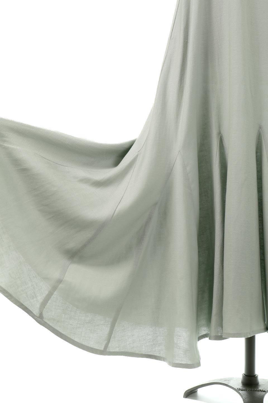 BlockHemSleevelessDressノースリーブ・フレアーワンピース大人カジュアルに最適な海外ファッションのothers(その他インポートアイテム)のワンピースやマキシワンピース。歩くたびに可愛く揺れるフレアーな裾で大人可愛いが完成するマキシワンピ。ゆとりのあるIラインのフォルムに立体的に切り替えを入れ動きが出るシルエット。/main-17