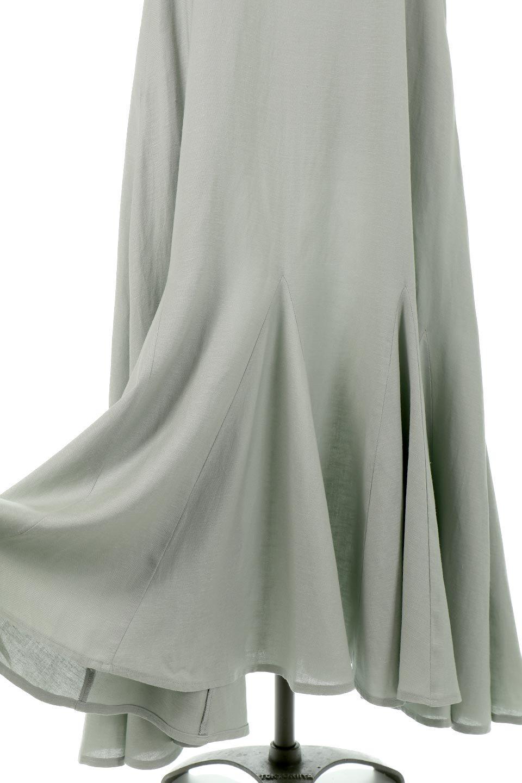 BlockHemSleevelessDressノースリーブ・フレアーワンピース大人カジュアルに最適な海外ファッションのothers(その他インポートアイテム)のワンピースやマキシワンピース。歩くたびに可愛く揺れるフレアーな裾で大人可愛いが完成するマキシワンピ。ゆとりのあるIラインのフォルムに立体的に切り替えを入れ動きが出るシルエット。/main-18