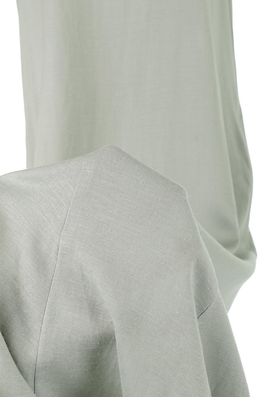 BlockHemSleevelessDressノースリーブ・フレアーワンピース大人カジュアルに最適な海外ファッションのothers(その他インポートアイテム)のワンピースやマキシワンピース。歩くたびに可愛く揺れるフレアーな裾で大人可愛いが完成するマキシワンピ。ゆとりのあるIラインのフォルムに立体的に切り替えを入れ動きが出るシルエット。/main-19