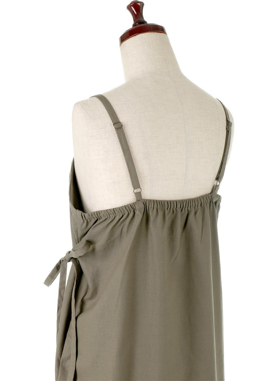CottonWrapLongDressコットンツイル・ラップワンピース大人カジュアルに最適な海外ファッションのothers(その他インポートアイテム)のワンピースやマキシワンピース。ナチュラルなコットン素材の風合いを生かしたポケット付きのワンピース。ラップ部分がエプロン風で、おしゃれなカフェのスタッフさんのような雰囲気もあります。/main-21