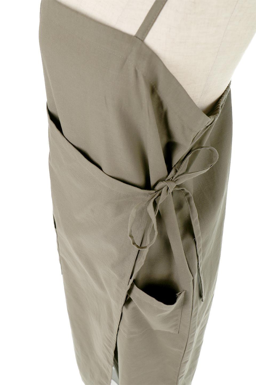 CottonWrapLongDressコットンツイル・ラップワンピース大人カジュアルに最適な海外ファッションのothers(その他インポートアイテム)のワンピースやマキシワンピース。ナチュラルなコットン素材の風合いを生かしたポケット付きのワンピース。ラップ部分がエプロン風で、おしゃれなカフェのスタッフさんのような雰囲気もあります。/main-22