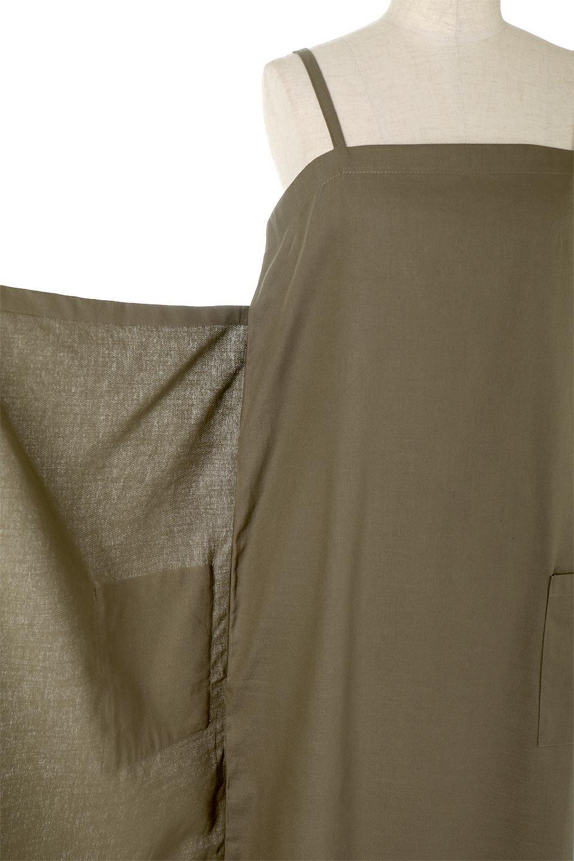 CottonWrapLongDressコットンツイル・ラップワンピース大人カジュアルに最適な海外ファッションのothers(その他インポートアイテム)のワンピースやマキシワンピース。ナチュラルなコットン素材の風合いを生かしたポケット付きのワンピース。ラップ部分がエプロン風で、おしゃれなカフェのスタッフさんのような雰囲気もあります。/main-23