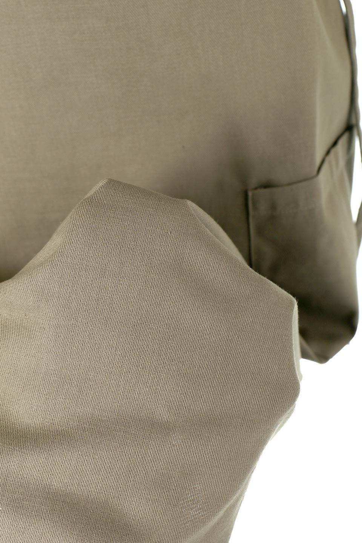 CottonWrapLongDressコットンツイル・ラップワンピース大人カジュアルに最適な海外ファッションのothers(その他インポートアイテム)のワンピースやマキシワンピース。ナチュラルなコットン素材の風合いを生かしたポケット付きのワンピース。ラップ部分がエプロン風で、おしゃれなカフェのスタッフさんのような雰囲気もあります。/main-25