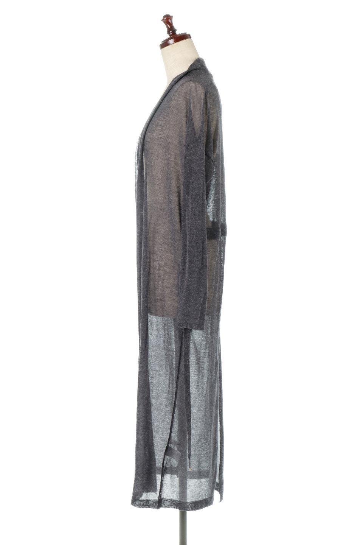 LongSheeredSummerCardiganスーパーロング・シアーカーディガン大人カジュアルに最適な海外ファッションのothers(その他インポートアイテム)のアウターやカーディガン。麻混でさらっと涼しい着流しロング丈カーディガン。程よいシアー感が見た目にも涼しいカーディガンです。/main-12