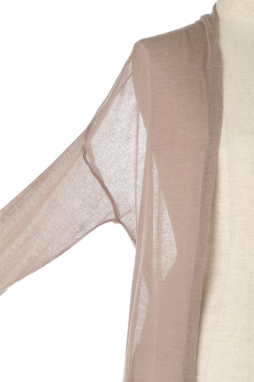 LongSheeredSummerCardiganスーパーロング・シアーカーディガン大人カジュアルに最適な海外ファッションのothers(その他インポートアイテム)のアウターやカーディガン。麻混でさらっと涼しい着流しロング丈カーディガン。程よいシアー感が見た目にも涼しいカーディガンです。/main-19
