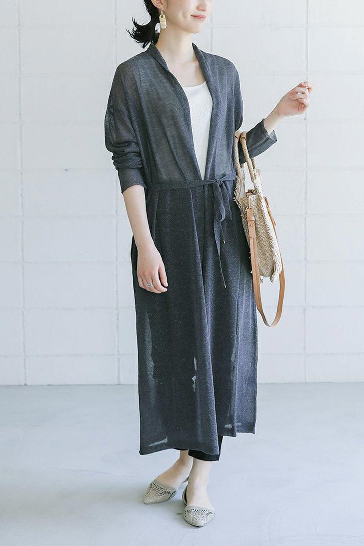 LongSheeredSummerCardiganスーパーロング・シアーカーディガン大人カジュアルに最適な海外ファッションのothers(その他インポートアイテム)のアウターやカーディガン。麻混でさらっと涼しい着流しロング丈カーディガン。程よいシアー感が見た目にも涼しいカーディガンです。/main-31