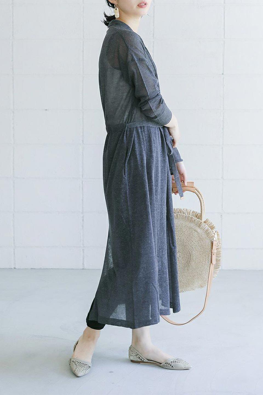LongSheeredSummerCardiganスーパーロング・シアーカーディガン大人カジュアルに最適な海外ファッションのothers(その他インポートアイテム)のアウターやカーディガン。麻混でさらっと涼しい着流しロング丈カーディガン。程よいシアー感が見た目にも涼しいカーディガンです。/main-33