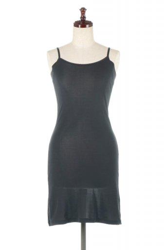 海外ファッションや大人カジュアルに最適なインポートセレクトアイテムのCOOLMAGIC Inner Cami Dress クールマジック・吸汗速速乾キャミワンピ