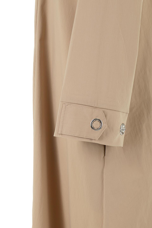 CollarlessFlareDressノーカラー・フルオープンワンピース大人カジュアルに最適な海外ファッションのothers(その他インポートアイテム)のワンピースやマキシワンピース。ノーカラーデザインとフレアシルエットが美しい無地ワンピース。切替でフレアに広がったラインが美しいワンピース。/main-15