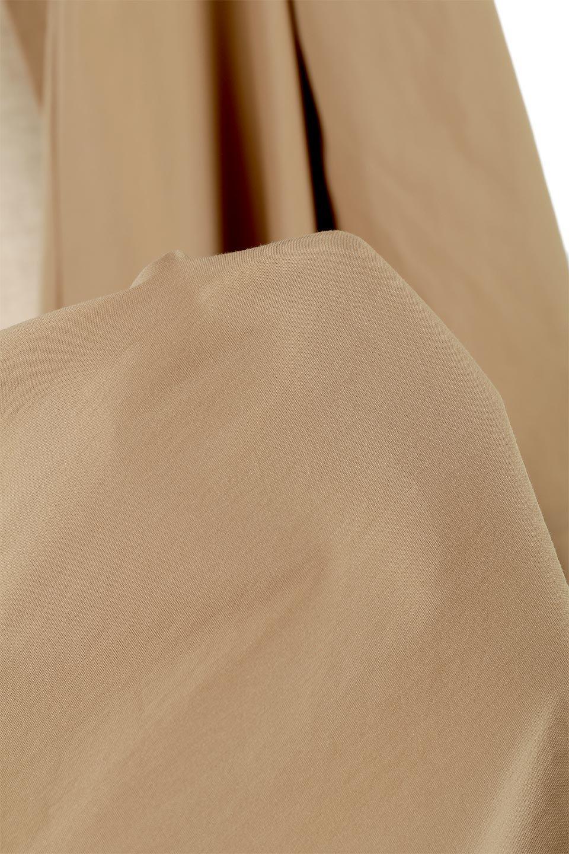 CollarlessFlareDressノーカラー・フルオープンワンピース大人カジュアルに最適な海外ファッションのothers(その他インポートアイテム)のワンピースやマキシワンピース。ノーカラーデザインとフレアシルエットが美しい無地ワンピース。切替でフレアに広がったラインが美しいワンピース。/main-18