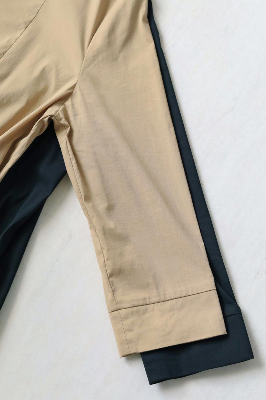 CollarlessFlareDressノーカラー・フルオープンワンピース大人カジュアルに最適な海外ファッションのothers(その他インポートアイテム)のワンピースやマキシワンピース。ノーカラーデザインとフレアシルエットが美しい無地ワンピース。切替でフレアに広がったラインが美しいワンピース。/main-40