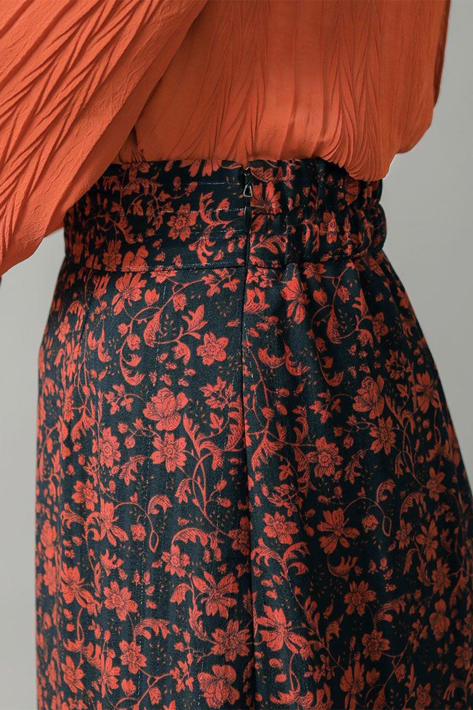 FloralPrintedMermaidSkirt花柄切り替え・マーメイドスカート大人カジュアルに最適な海外ファッションのothers(その他インポートアイテム)のボトムやスカート。エレガントで女性らしいマーメイドラインの花柄スカート。全体的にIラインながら途中から切り替えが入っており、裾部分はフレアに。/main-24