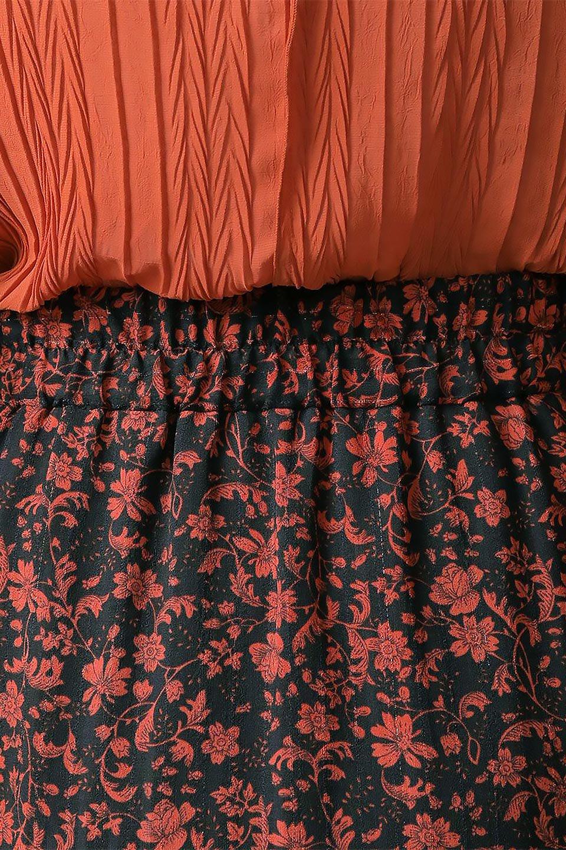 FloralPrintedMermaidSkirt花柄切り替え・マーメイドスカート大人カジュアルに最適な海外ファッションのothers(その他インポートアイテム)のボトムやスカート。エレガントで女性らしいマーメイドラインの花柄スカート。全体的にIラインながら途中から切り替えが入っており、裾部分はフレアに。/main-25