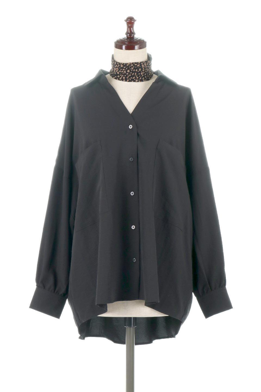 SkipperCollarBigPocketBlouseスカーフ付き・スキッパーブラウス大人カジュアルに最適な海外ファッションのothers(その他インポートアイテム)のトップスやシャツ・ブラウス。シルクのようなさらっとした手触りの生地を用いたシャツブラウス。オーバーサイズでお尻まですっぽりと隠れる丈感となっていますが、首元のV開きにより顔まわりはスッキリ見え、抜け感が出て◎スタイリングのポイントとして取り入れやすい、レオパード柄スカーフ付き。/main-15