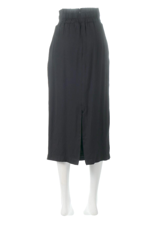 TwistedWaistNarrowSkirtツイストベルト・ナロースカート大人カジュアルに最適な海外ファッションのothers(その他インポートアイテム)のボトムやスカート。表面が凸凹しているので触り心地が少しざらつきがあるスラブ生地を用いたスカート。リボンを結んだようなウエストデザインがあるので、無地Tやシンプルなトップスと合わしてもこなれ感が出ます。/main-14
