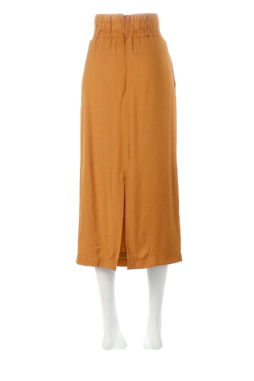 TwistedWaistNarrowSkirtツイストベルト・ナロースカート大人カジュアルに最適な海外ファッションのothers(その他インポートアイテム)のボトムやスカート。表面が凸凹しているので触り心地が少しざらつきがあるスラブ生地を用いたスカート。リボンを結んだようなウエストデザインがあるので、無地Tやシンプルなトップスと合わしてもこなれ感が出ます。/main-9
