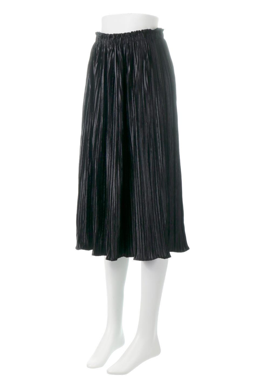 PleatedVelourLongSkirtプリーツ・ベロアスカート大人カジュアルに最適な海外ファッションのothers(その他インポートアイテム)のボトムやスカート。ベロア地をプリーツ加工したロングスカート。たっぷりギャザーを寄せてあるので重量感があり、ストンとした落ち感です。/main-6