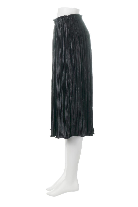 PleatedVelourLongSkirtプリーツ・ベロアスカート大人カジュアルに最適な海外ファッションのothers(その他インポートアイテム)のボトムやスカート。ベロア地をプリーツ加工したロングスカート。たっぷりギャザーを寄せてあるので重量感があり、ストンとした落ち感です。/main-7